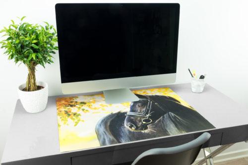 Schreibtischunterlage Für Pferdeliebhaber