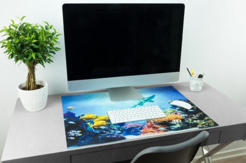 Schreibtischunterlage Mit Der Unterwasserwelt