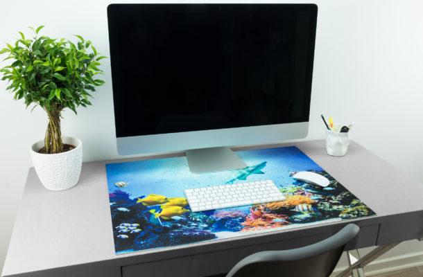 Schreibtischunterlage Fische / Haie Meer