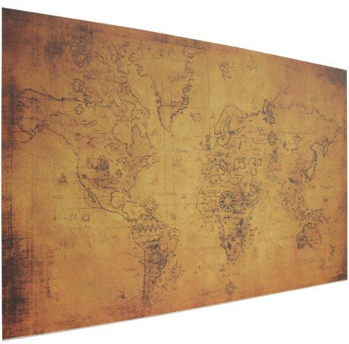 Schreibtischunterlage Mit Der Alten Landkarte