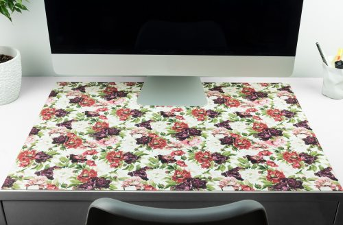 Schreibtischunterlage Blumen