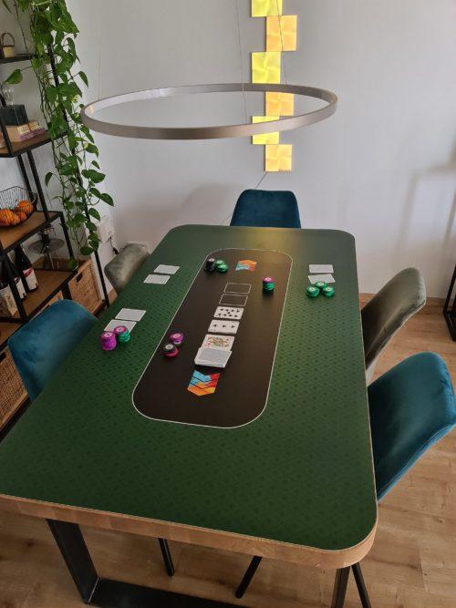 Pokertischunterlage (glattes Material)