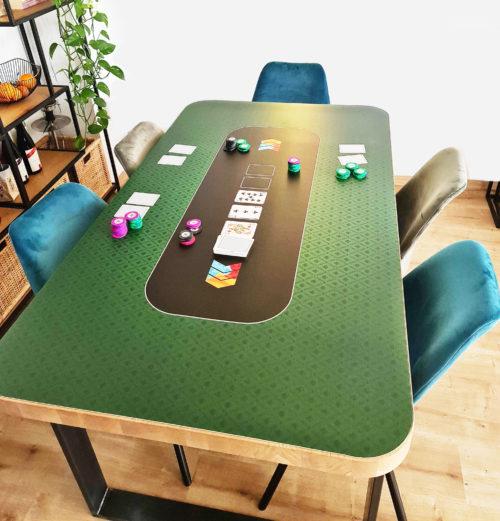 Pokertischauflage